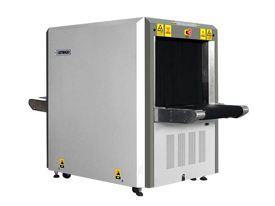EI-7555 Multi-energy x-ray baggage scanner