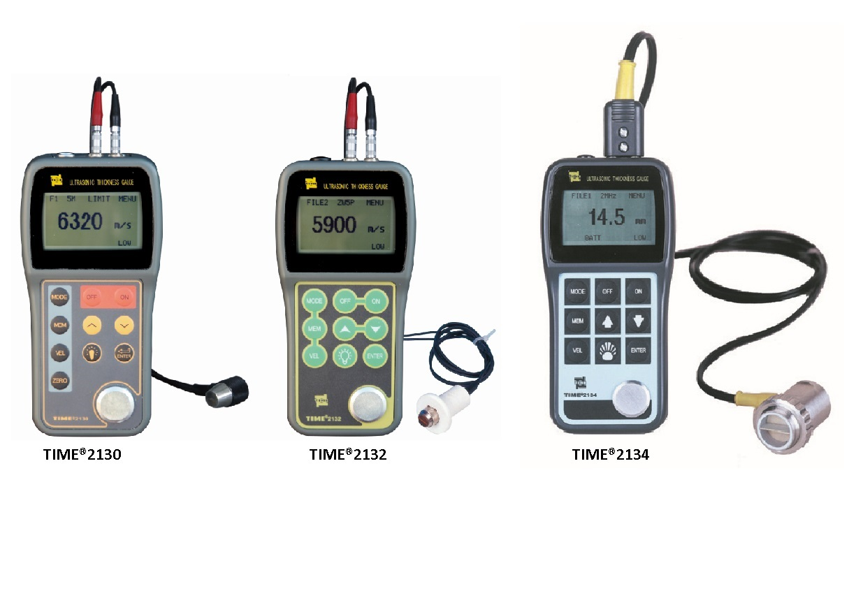 Ultrasonic Thickness Gauge TIME®2130/2132/2134