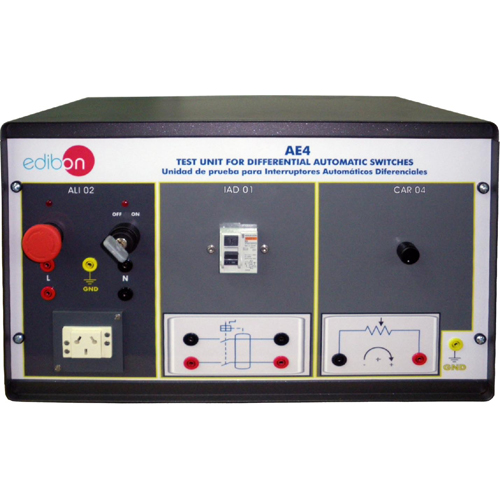 Test Unit for Differential Automatic Switches