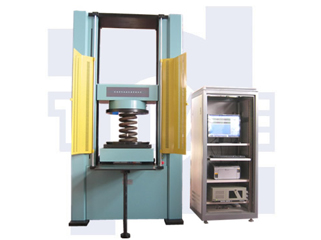 Microcomputer Controlled Spring Transverse Stiffness Testing Machine