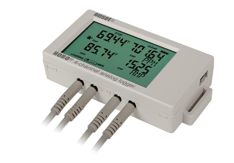 HOBO 4-Channel Analog Data Logger UX120-006M