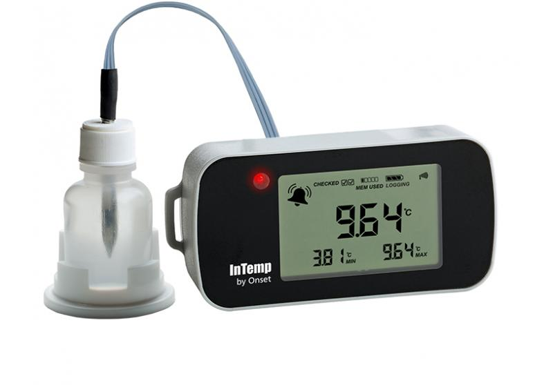 InTemp Bluetooth Low Energy Temperature (with Glycol) Data Logger (CX402-Txxx)