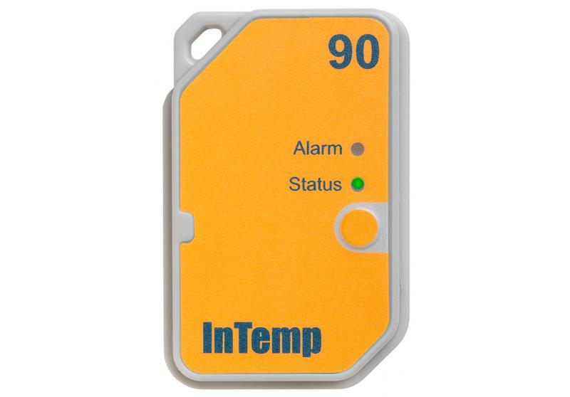 InTemp Bluetooth Low Energy 90 Day Single-Use Temperature Data Logger (CX502)